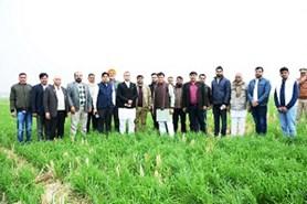 केंद्रीय मृदा लवणता अनुसंधान संस्थान, करनाल दवारा 'क्षेत्रीय किसान दिवस' का आयोजन