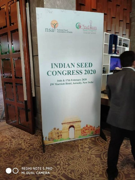 Indian Seed Congress 2020