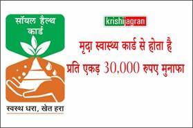 मृदा स्वास्थ्य कार्ड से होता है प्रति एकड़ 30,000 रुपए का मुनाफा, इसलिए किसान करें अंदोलन : कृषि मंत्री