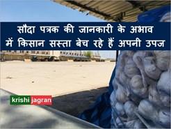 सौदा पत्रक की जानकारी के अभाव में दूरदराज़ के किसान कम दामों में ही बेच रहे हैं अपनी उपज