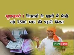 बड़ी ख़बर : Rayathu Bharosa Yojana के तहत किसानों के खातों में भेजी गई 7500 रुपए की पहली किश्त