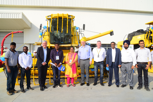 New Holland Agriculture and Case IH's New Pune Plant ...