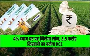 2.5 करोड़ किसानों को दिया जाएगा KCC, पीएम किसान योजना का लाभ ले रहे किसान जल्दी बनवाएं