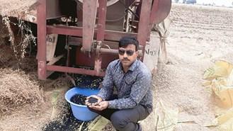चने  की  उन्नत किस्म  एमपी के-179 की खेती कर विनोद  चौहान बनें सफल किसान, जानिए सफलता की कहानी