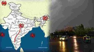 अगले 24 घंटों के दौरान उत्तर प्रदेश और  झारखंड समेत इन राज्यों में होगी हल्की से मध्यम बारिश!