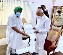Punjab CM कैप्टन अमरिंदर  सिंह ने  दिया इस्तीफा, Farmers Protest को लेकर मचा था सियासी घमासान