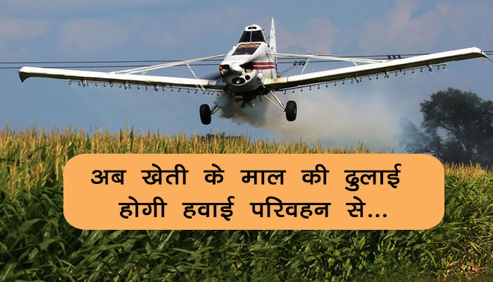 Now the transport of agricultural goods will be transported by air transport ...