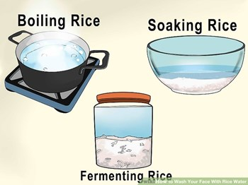 Advantages of Rice Water