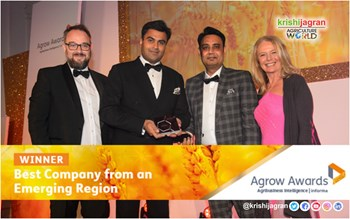 "Willowwood is awarded ""World's Best Emerging Company"" award"